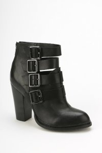 Gadget Buckled Ankle Boot