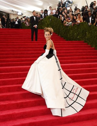 Sarah Jessica Parker again...because the back is as amaze as the front!