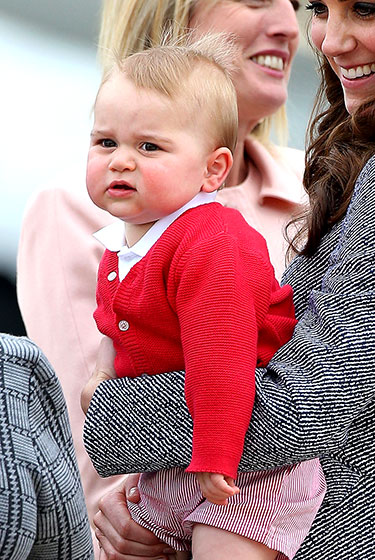 Prince George_Red Sweater