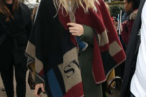 Burberry Poncho - Copy