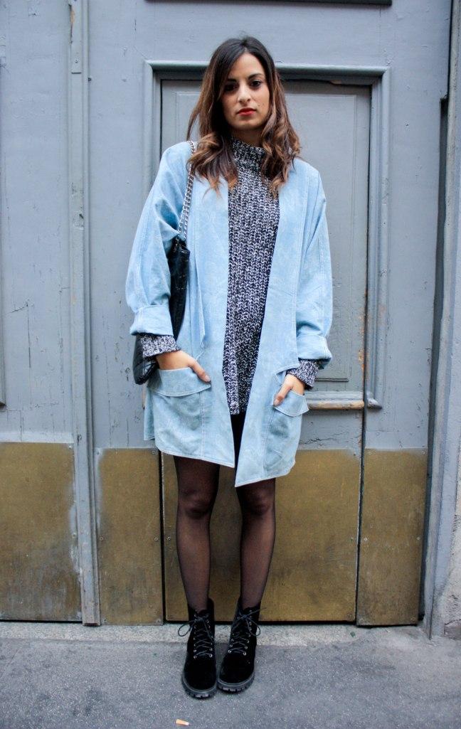 Pastel Blue Coat
