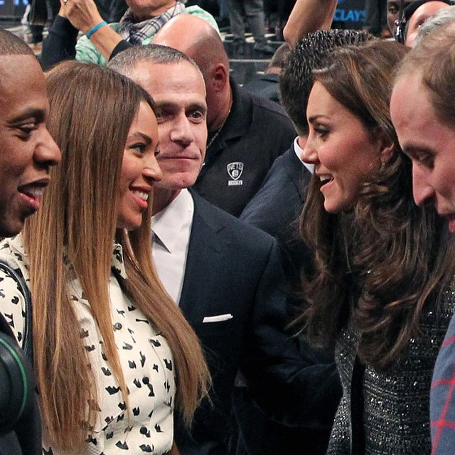 JayZBeyonce+Will+Kate