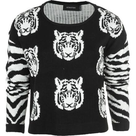 Mink Pink Tiger Time Knit Sweater