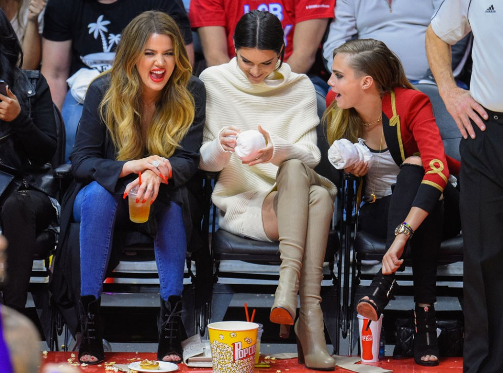 Kendall Jenner_Courtside
