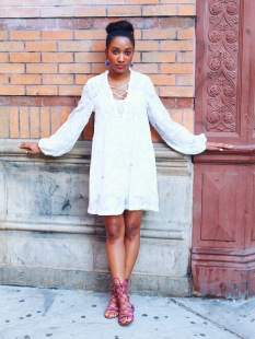 How to Wear White Dress