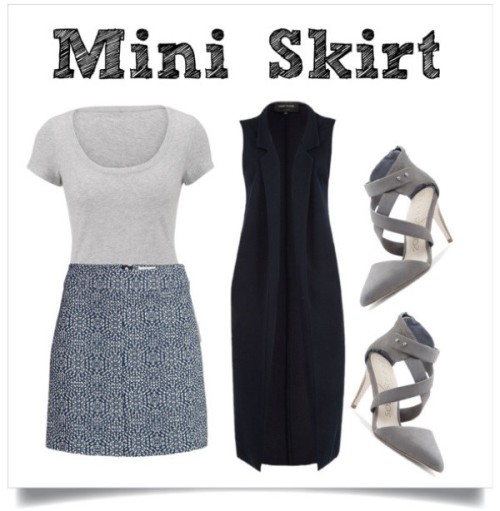 Fall Trend Mini Skirt