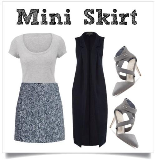 Fall Trend Mini Skirt