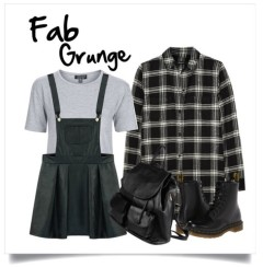 You like your outfit to hand a little edge while putting a grunge spin on hottest trends.