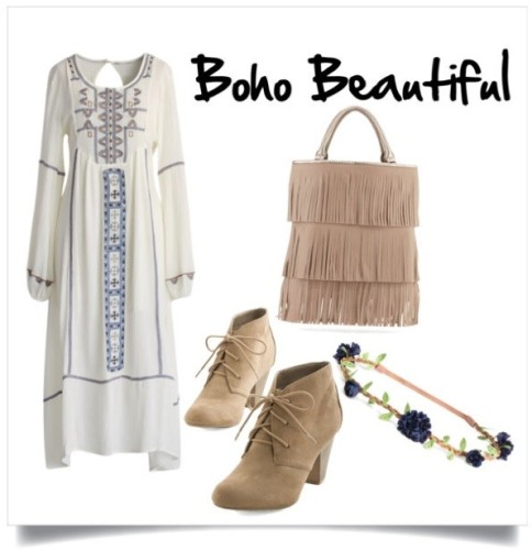 You are a flower child born in the wrong decade at heart. You lean toward flowy boho outfits.