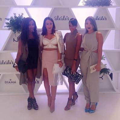From Left: Alexa of Lex Loves Couture (duh), Natasha of Style by NC, Martha of MDoll NYC, and Sabrina of Stylophyle