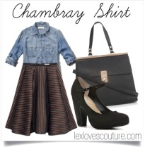 Chambray & Full Skirt