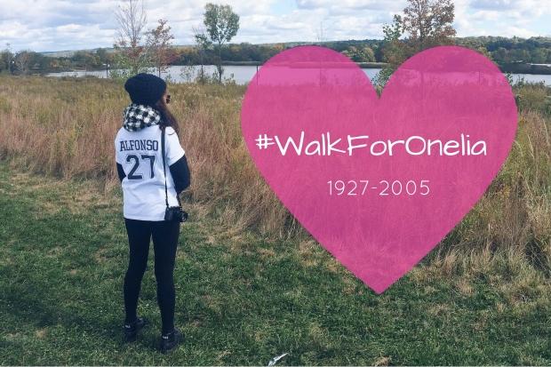 #WalkForOnelia