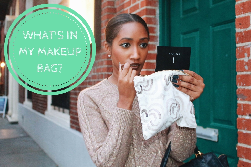 What's In My Makeup Bag-
