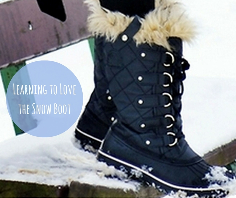 Learning to Love the Snow Boot