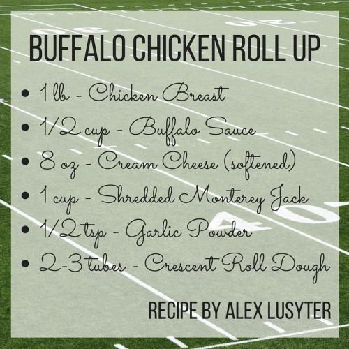 Buffalo Chicken Roll Up
