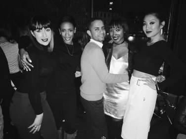 Left to Right: Natasha Coutinho, Martha Luna, Ruben Farjado, Alexa Alfonso, and Sabrina Poon