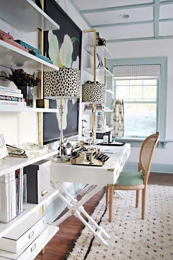 Accent and Pattern—Desk Organization