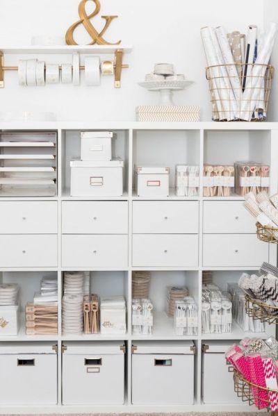 Storage Ideas—Desk Organization