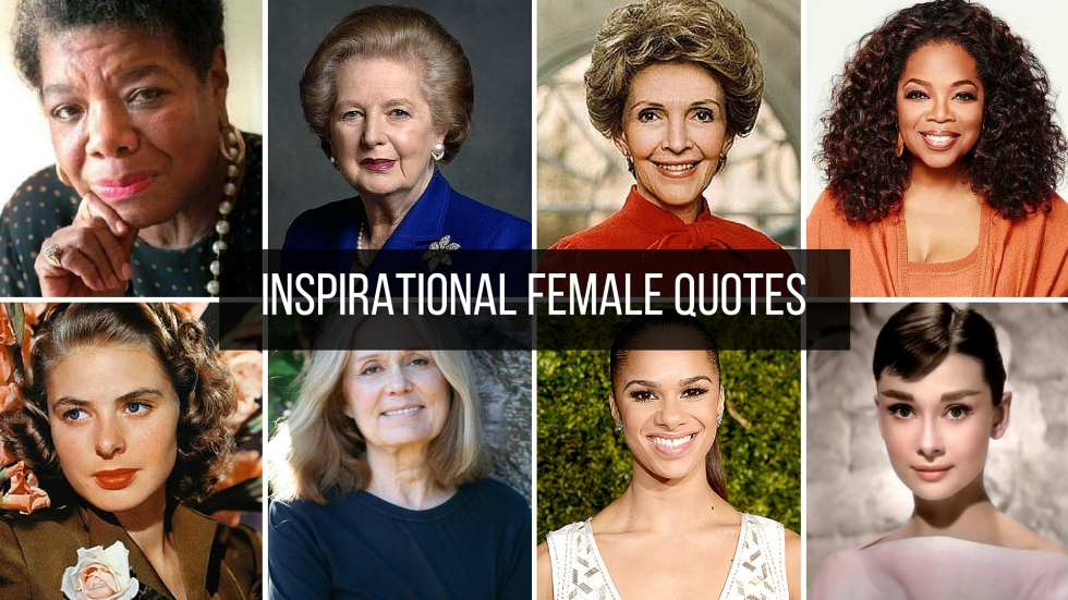 INSPIRATIONAL FEMALE QUOTES