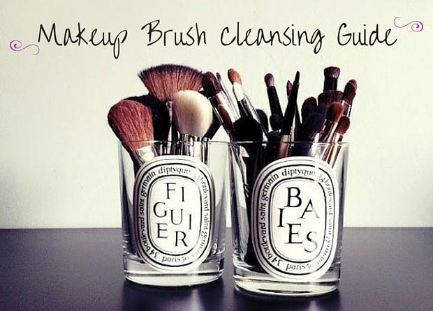 Makeup Brush Cleansing Guide