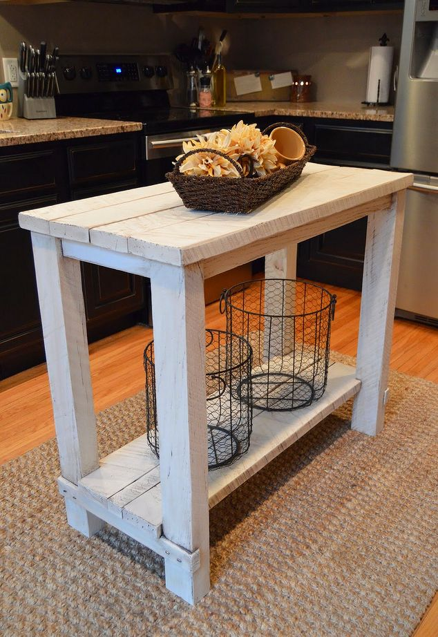 Rustic Reclaimed Wood Kitchen Island Table Kitchen Design Kitchen Island  Outdoor Furniture.1