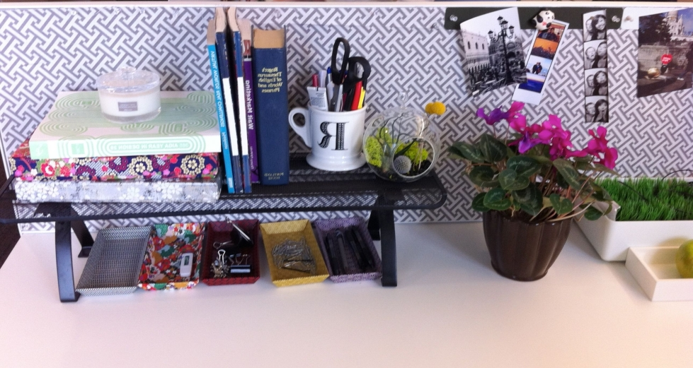 Simple Cubicle Decorating Ideas Htjvj Within Office Desk Decorating Ideas Ideas
