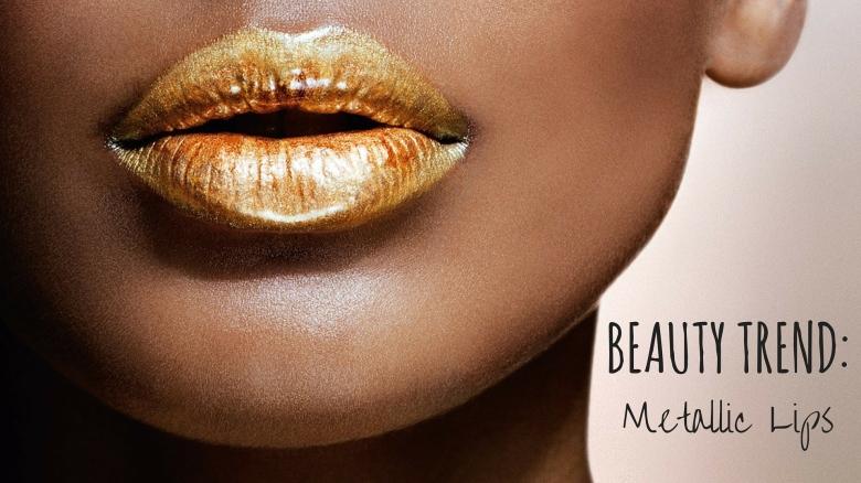 Beauty Trend-Metallics Lips