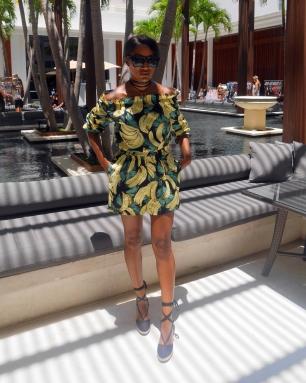 Choker/Romper: Necessary Clothing | Shoes: DeJaneiro Stores | Sunglasses: H&M