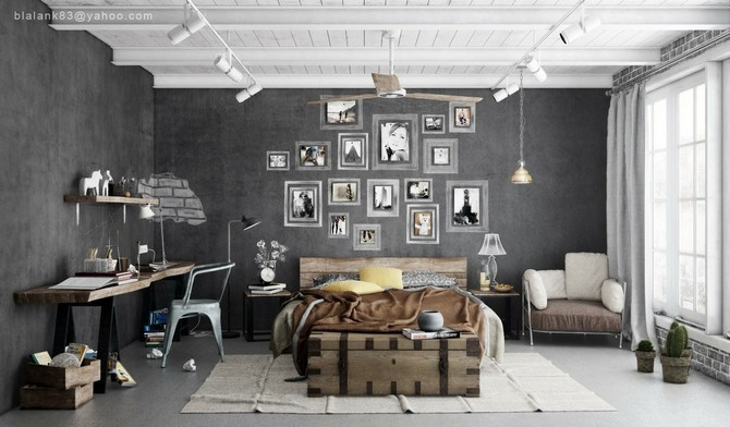Photo: Vintage Industrial Style