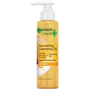 Garnier Clean + Nourishing Cleansing Oil