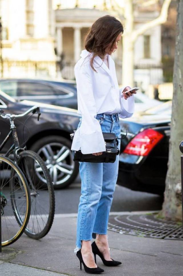 high-low-jeans-street-style