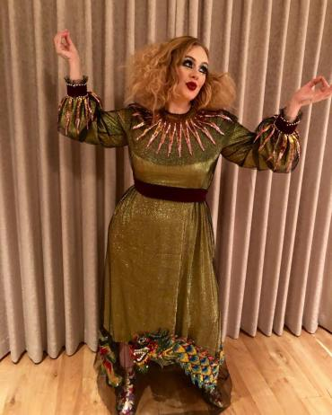 Adele as Court Jester