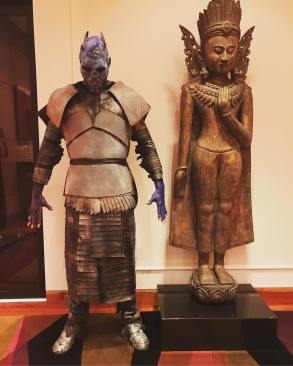 "Carmelo Anthony as Night King from ""Game of Thrones"""