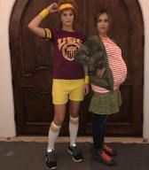 "Jessica Alba & Pal as Juno & Paulie from ""Juno"""