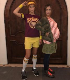 "Jessica Alba & Pal as Juno & Paulie from ""Juno"""