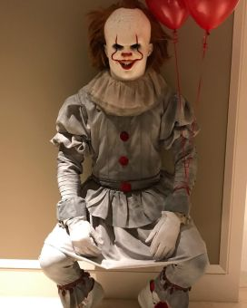 "Lebron James as Pennywise from ""It"""