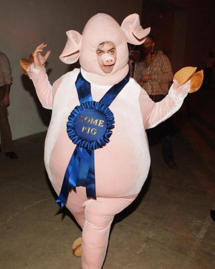 """Marc Jacobs as Wilbur from """"Charlotte's Web"""""""